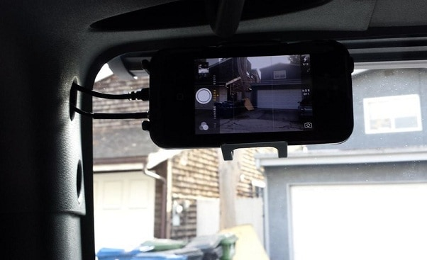 dash cam installation