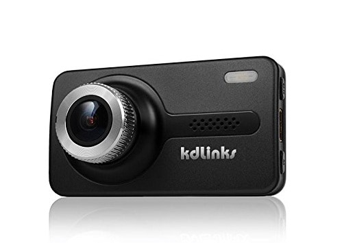 KDLINKS X1 GPS Enabled Dashboard Camera